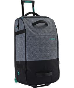 Burton Wheelie Double Deck Travel Bag Pinwheel Weave Print 92L