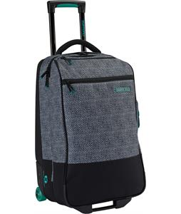 Burton Wheelie Flight Deck Travel Bag Pinwheel Weave Print 45L