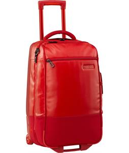 Burton Wheelie Flight Deck Travel Bag Real Red Tarp 45L
