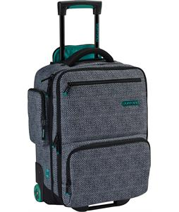 Burton Wheelie Flyer Travel Bag Pinwheel Weave Print 30L