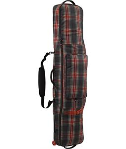 Burton Wheelie Gig Bag Snowboard Bag Black Plaid 166cm