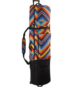 Burton Wheelie Locker Snowboard Bag Fish Blanket Print 156cm