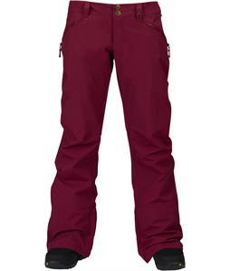 Burton Society Snowboard Pants Sangria