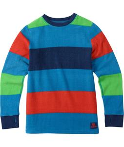Burton Youth Fleece Baselayer Set Top Mascot Pop Stripe