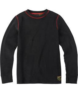 Burton Youth Fleece Baselayer Set Top True Black