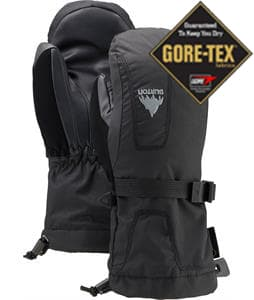 Burton Youth Gore-Tex Mittens True Black