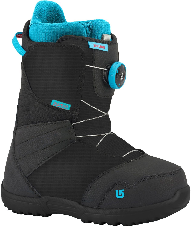 Burton zipline boa snowboard boots kids youth 2018 for Housse snowboard burton