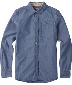 Burton Mazzy L/S Shirt Light Chambray