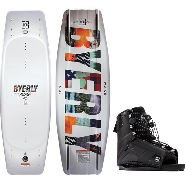 Byerly Agenda Wakeboard w/ Trace Bindings