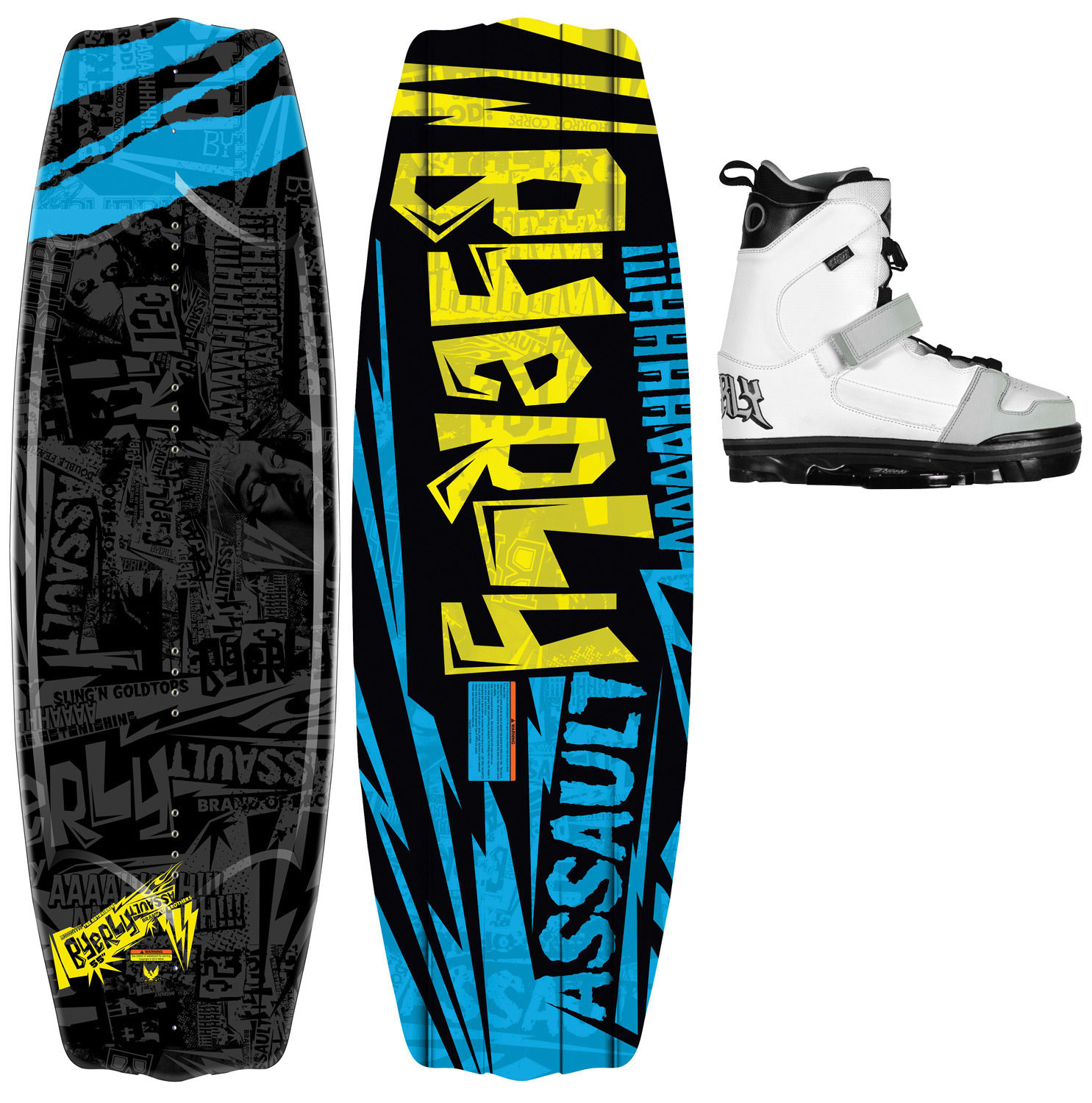 Shop for Byerly Assault Wakeboard 55 w/ Onset Bindings - Men's