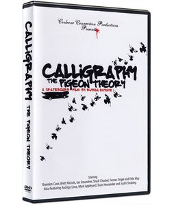 Calligraphy 2 Pigeon Theory Skateboard DVD
