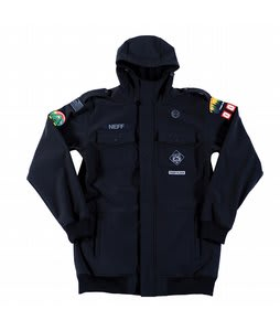 Neff Camp Reject Softshell Jacket Black