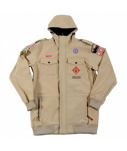 Neff Camp Reject Softshell Jacket Khaki