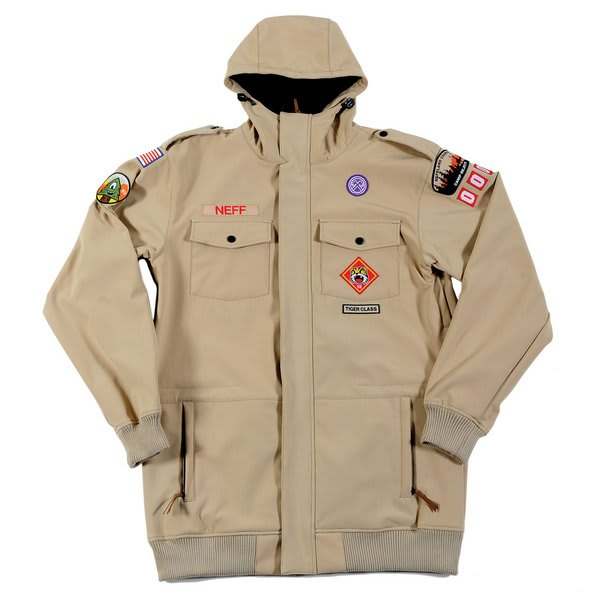 Neff Camp Reject Softshell Jacket