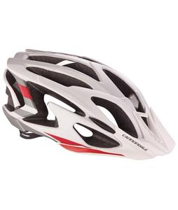 Cannondale Ryker Bike Helmet White/Red