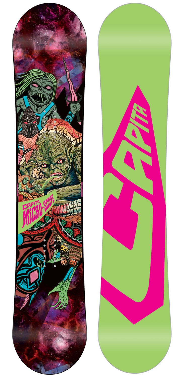 Shop for Capita Micro-Scope Snowboard Multi 125 - Kid's