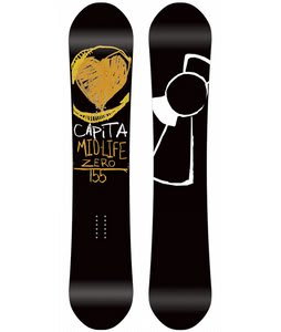 Capita Mid Life Zero Snowboard 155