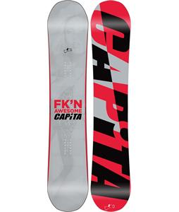 Capita Totally FK'n Awesome Snowboard 155