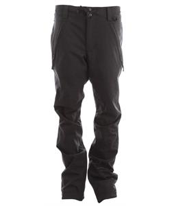 Cappel Bankrobber Snowboard Pants Black Stretch Tweed