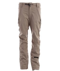 Cappel Bankrobber Snowboard Pants British Khaki Stretch Tweed