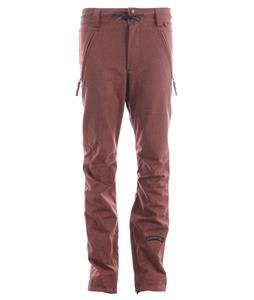 Cappel Bankrobber Snowboard Pants Mahogany Stretch Tweed