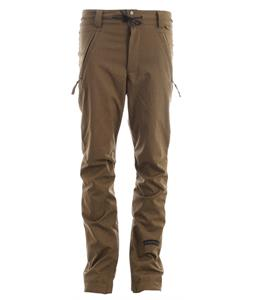 Cappel Bankrobber Snowboard Pants Surplus Olive Stretch Tweed