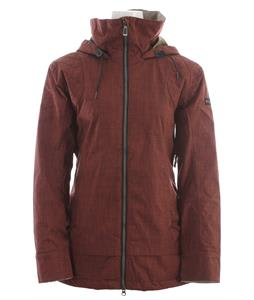 Cappel Blackmail Snowboard Jacket Mahogany Chambray