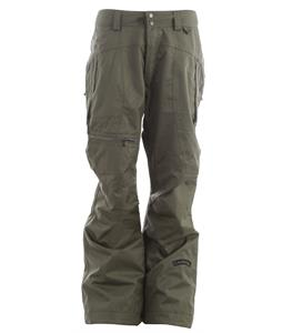 Cappel Calling Snowboard Pants Battle Green Canvas