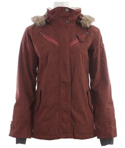 Cappel Cherry Bomb Snowboard Jacket Mahogany Chambray