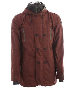 Cappel Clampdown Snowboard Jacket Mahogany Chambray