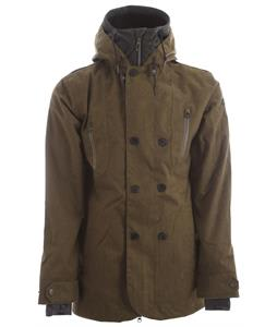 Cappel Clampdown Snowboard Jacket Surplus Olive Wool