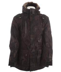 Cappel Magnificent Insulated Snowboard Jacket Black Camo Wool