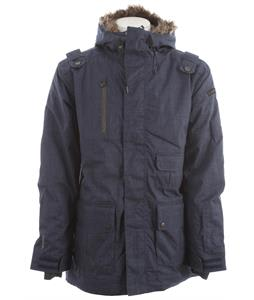 Cappel Magnificent Insulated Snowboard Jacket Shipyard Navy Chambray