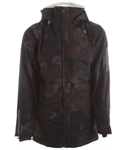 Cappel Revolution Snowboard Jacket Black Camo Wool