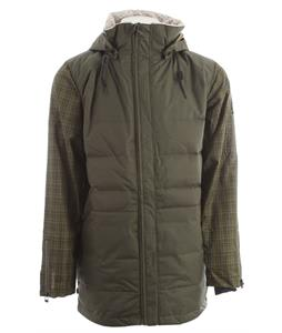 Cappel Revolution Snowboard Jacket Battle Green Canvas