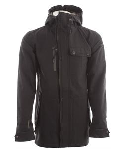 Cappel Riot Snowboard Jacket Black Stretch Tweed