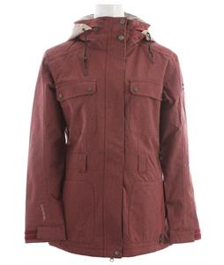 Cappel Secret Snowboard Jacket Mahogany Stretch Tweed