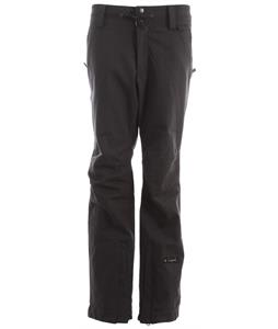 Cappel Take Over Snowboard Pants Black Stretch Tweed