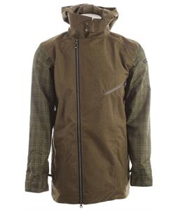 Cappel Thieves Snowboard Jacket Surplus Olive Wool