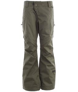 Cappel Wasted Snowboard Pants Battle Green Canvas