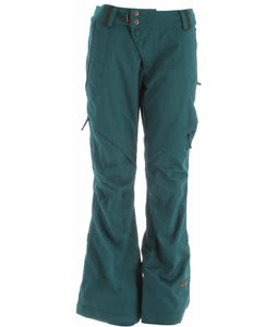 Cappel Wasted Snowboard Pants Intense Teal Wool