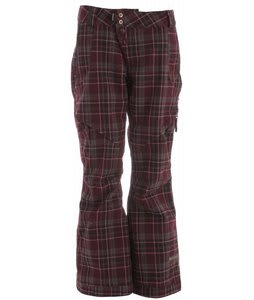 Cappel Wasted Snowboard Pants Richwool Plaid Raisin