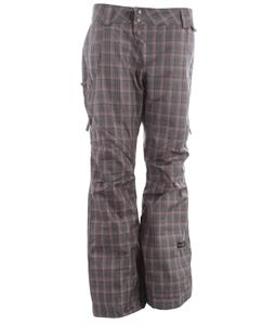 Cappel Wasted Snowboard Pants Tartan Plaid Metal Revolver