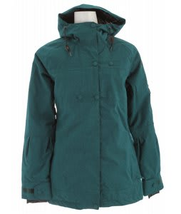 Cappel Heartbeat Insulated Snowboard Jacket Intense Teal Wool