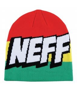 Neff Cartoon Beanie Rasta