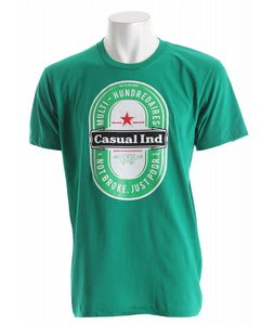 Casual Industrees Heine T-Shirt Kelly Green