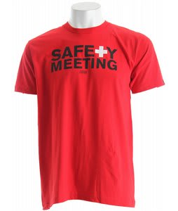 Casual Industrees Safety Meeting 2 T-Shirt Red