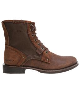 CAT Abe Canvas Boots Dark Snuff