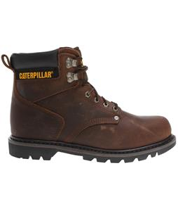 Caterpillar Second Shift Boots Dark Brown