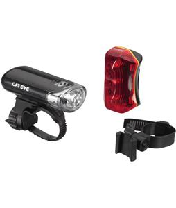 CatEye El130/Tl-170R Headlight And Taillight Set Black
